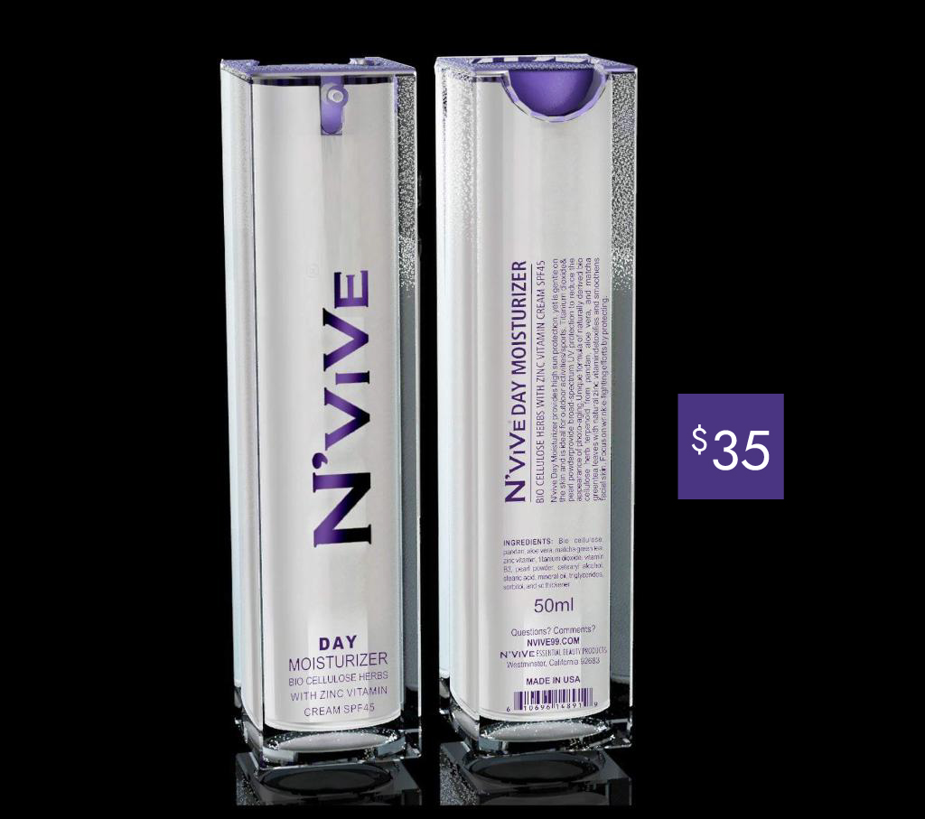 N'ViVe Day Moisturizer w/ SPF45 (50ml)