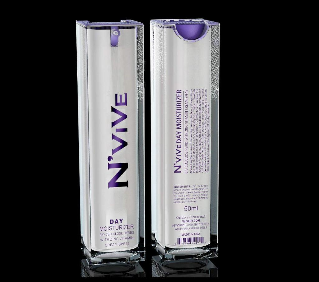 N'vive Day Moisturizer w/ SPF45 50 mL